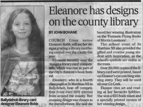 Eleanore Designs Library Card